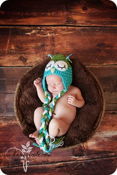 Handmade Unisex Baby Hats