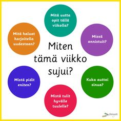 Hyvinvointi - Värinautit Diy Finger Knitting, Primary English, Autumn Crafts, Early Childhood Education, 5th Grades, School Fun, Special Education, Good To Know, Counseling