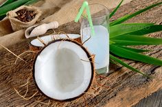 Realistic Graphic DOWNLOAD (.ai, .psd) :: http://jquery.re/pinterest-itmid-1006912281i.html ... coonut opened ...  Coconut Milk, beans, coconut, coffee, cool, drink, food, leaves, open, palm, refreshing, tropical, wooden table  ... Realistic Photo Graphic Print Obejct Business Web Elements Illustration Design Templates ... DOWNLOAD :: http://jquery.re/pinterest-itmid-1006912281i.html