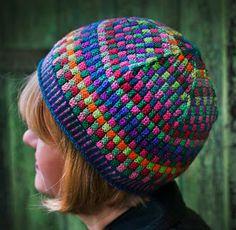 Nördic Knitting: Tjugoandra avsnittet om att våga sticka med färg