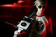 awesome dave strider cosplay!
