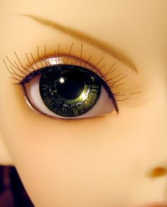18mm White Zombie Acrylic Eyes for Reborn Unusual Doll Baby Making