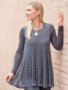 Design is made using Universal Yarn Bamboo Pop, a DK-weight yarn, in the color Graphite. Instructions are written for sizes S (M, L, XL, 2XL, 3XL, 4XL, 5XL, 6XL) and uses 1028 (1168, 1218, 1408, 1638, 1918, 2168, 2338, 2508) yds of any DK-weight yarn...
