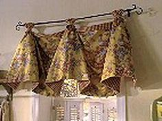 Custom French Country VALANCE Roosters Jacobean Black Check Tassel - French country valances