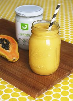 Smooth Wednesday: Papaya-Orangen-Smoothie - The Happy Vegan