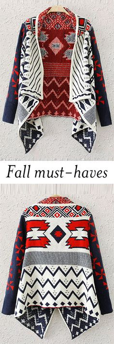 Every year during the autumn, there are a few pieces in your wardrobe that get the most love. The Mexico Cardigan is made in soft and warm and features unique mexico style pattern. Check it with amazing price at CUPSHE.COM