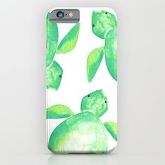 The Watercolor Sea Turtle iPhone case bought my eye because of it use of color. the green has a nice gradiancs to it as it transitions to white. my only suggestion is to add a little brown to the top of the shell to make it feel a lot closer to an actual sea turtle. but its still a good case