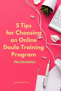 How do you choose an online doula training program? Here are five tips to help you. Doula Business, Consultant Business, Business Tips, Doula Training, Training Programs, Training Tips, Doula Certification, End Of Life Doula, Birth Doula