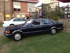 1991 W126 420SE. Rare V8 short wheel base, in Midnight Blue. 300,000km and still going strong.