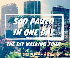 Brazil Travel Tips l São Paulo: The DIY Walking Tour l @tbproject