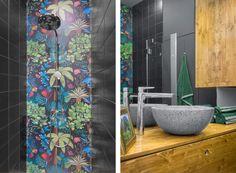 Dél-Amerika inspirálta ezt a pazar Klauzál téri lakást - Roadster Puerto Rico, Bathroom, Home, America, Washroom, Full Bath, Ad Home, Homes, Bath