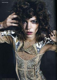 i-D Magazine - Freja Beha, the Rock n'Roll Star