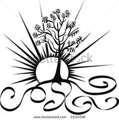 Tree Of Life Stock Vector Illustration 33153346 : Shutterstock