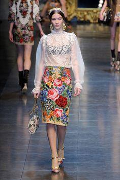 Dolce & Gabbana FW 12/13