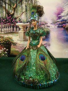 "Barbie ""Peacock Lady"" par barbiebackintime, via Flickr:"