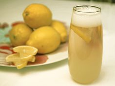 Champagne Lemonade recipe from Tyler Florence via Food Network