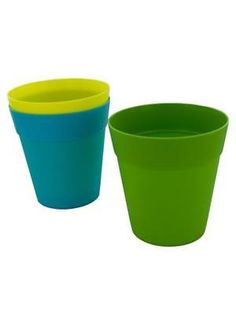 Lawn and Garden 40145: Colorful Plastic Flower Pot (Available In A Pack Of 24) -> BUY IT NOW ONLY: $53.76 on #eBay #garden #colorful #plastic #flower