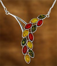 Amber Vineyard Necklace at The Animal Rescue Site