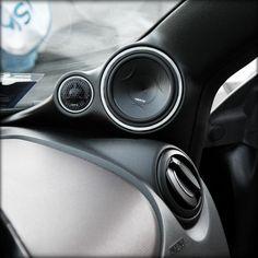 Hertz Car Audio Custom A Pillars.