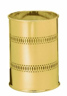 Wildon Home ® Metal Waste Basket Finish: Chrome Trash Disposal, Trash And Recycling Bin, Wood Waste, Trash Containers, Thing 1, Trash Bag, Corrugated Metal, Steel Mesh, Brushed Stainless Steel