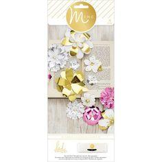 Minc 3D Paper Flowers 70/Pkg- (307018)