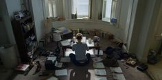 Zoe Barnes' desk on House of Cards