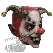 Popular Halloween 'Evil Jester Clown Mask' Horror Scary Evil Latex Party Mask
