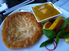 Roti canai at Thaiphoon in Raleigh- NC Triangle Dining