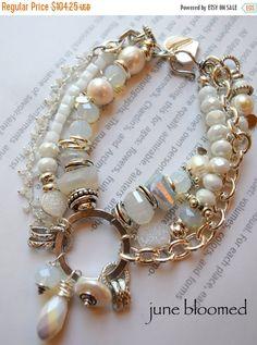 ON SALE bracelet rainbow moonstone bracelet druzy by soulfuledges