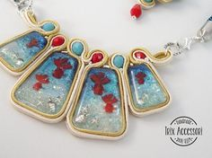 Parure jewelry set In fondo al mar necklace and
