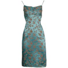 Vintage and Designer Evening Dresses and Gowns - For Sale at - Page 4 Blue Satin Dress, Satin Dresses, Gowns, Pretty Dresses, Beautiful Dresses, Estilo Zendaya, Wiggle Dress, Lookbook, Looks Vintage