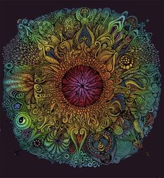 Mandala for Nieve by David Chrystalface/ FaLK . For Gif: http://3.bp.blogspot.com/-LaV0CZ2mJBQ/U40YmXJnR0I/AAAAAAAABnM/4xRUVKH6AWg/s1600/238604_falk_mandala-of-nieve-gif_1.gif