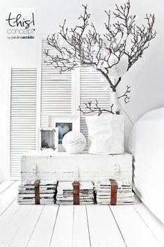 Des inspirations pour un séjour blanc et lumineux