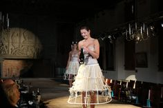 #catwalk #champagne #serving