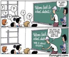 Image result for back to school humor for teachers
