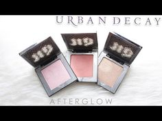 Urban Decay Afterglow Powder Highlighters — Full review, swatches and dupes!