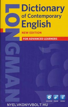 Longman dictionary of contemporary english : for advanced learners ed. English Dictionary Pdf, English Books Pdf, Learner's Dictionary, English Online, English News, English Words, Learn English, British And American English, Les Accents