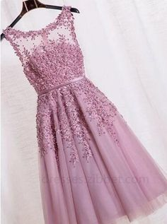 Beaded/Beading Prom Dresses, Lilac A-line/Princess Homecoming Dresses, Short Lilac Homecoming Dresses, 2017 Homecoming Dress Sexy A-line Flower Short Prom Dress Party Dress Short Graduation Dresses, Cheap Homecoming Dresses, Prom Dresses 2016, Dresses Short, Wedding Party Dresses, Trendy Dresses, Evening Dresses, Formal Dresses, Bridesmaid Dresses