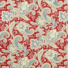 waverly clifton hall strawberry 54 fabric hall floral motif and
