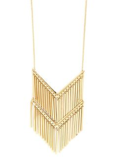 What Shines Is Yours Necklace. Pull your look together in a shining instant with this long golden necklace! NaN