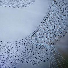 A new project... #sokkogrokk #lace #bobbinlace #knipling #natthagen #galleri #gallery #čipka #idrija #merletto #merletti #pitsi