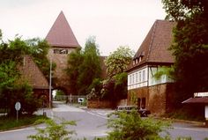 Pinder Barracks, Zirndorf, Germany. It is no longer a military installation, has been turned into an office park.