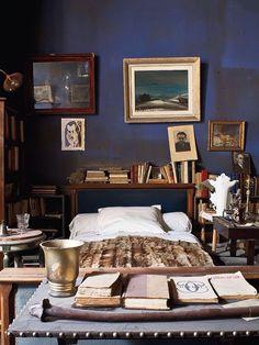 Bedroom of French poet Joe Bousquet