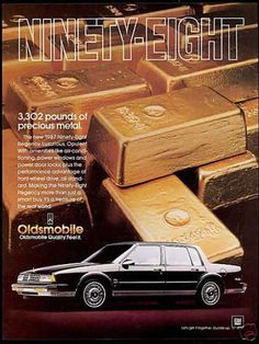 1987 Oldsmobile Ninety-Eight Regency Sedan