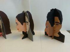 Voorbeeld werkstuk 3D portret