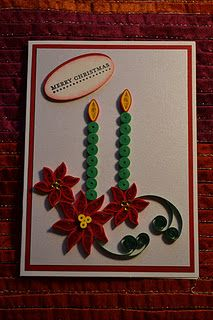 nice quilling for Christmas~
