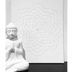 Got started on this little canvas (28x35) yesterday evening, on request ☺️ #wip #workinprogress #drawing #miss_fino #fun #canvas #canvasart #fineliner #Staedtler #mySTAEDTLER #pigmentliner #doodle #doodling #tattoo #design #mandala #zen #zentangle #dotwork #dots #stippling #blackandwhite #beautiful_mandalas #zentanglemandalalove #buddha