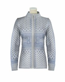 Dale of Norway Bessbu Women's Sweater - Off White/Ice Blue. Someday, I will own one of these!