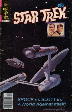 Wow, I remember these Gold Key comics! Star Trek Nr. 55