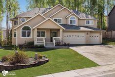 13439 Konrad Dr, Eagle River, AK 99577. 5 bed, 2 bath, $599,000. The front porch welc...